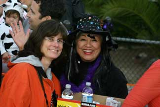 Canaloween Chair Marianne Wisner and helper Maxine Leral.
