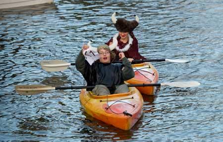 """""""Kayak Viking """" by Aia and Sabrina Golbaz"""