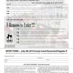 Regatta entry information