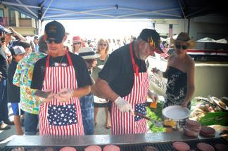 our infamous chefs ... Irv Puskin & Michael Klain