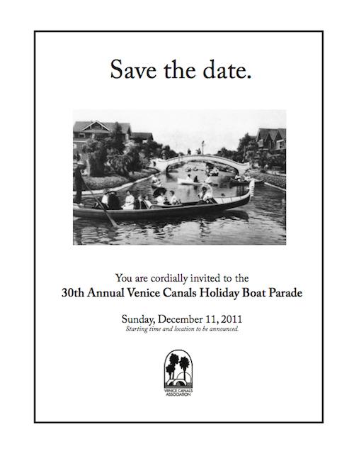VCA 30th Annual Holiday Boat Parade