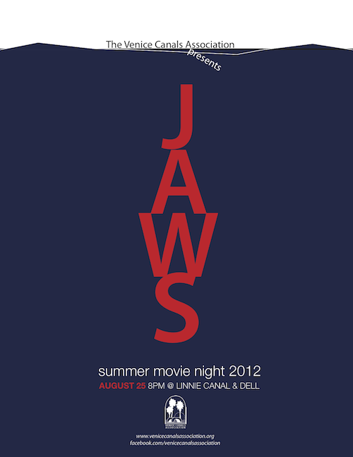 "VCA Row-In Movie Night presents ""Jaws"""